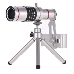 18x zoom lense for mobile with mini tripod