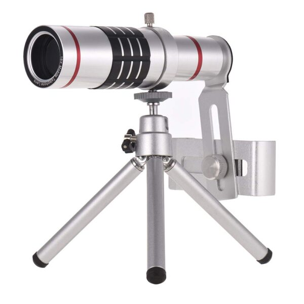 18x zoom lense for mobile with mini tripod 4