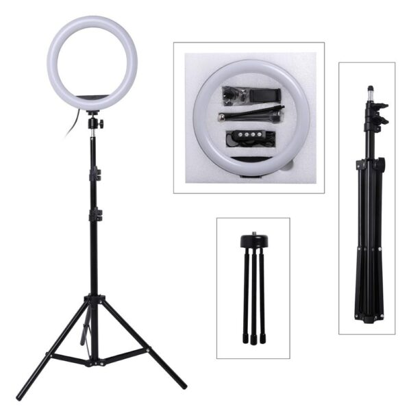 26 cm ring light with 9ft full size big Stand 4