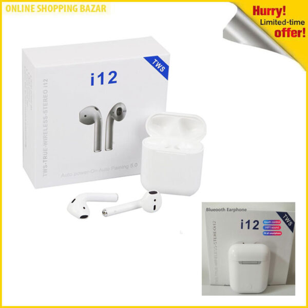 i12 earphone 3