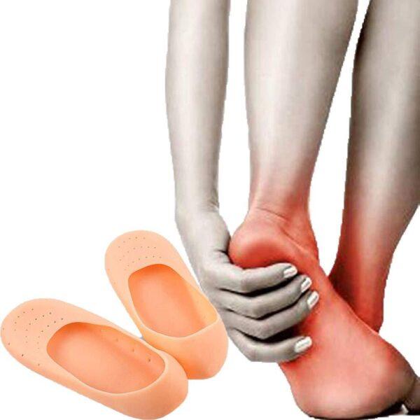 anti crack heel silicon socks 5