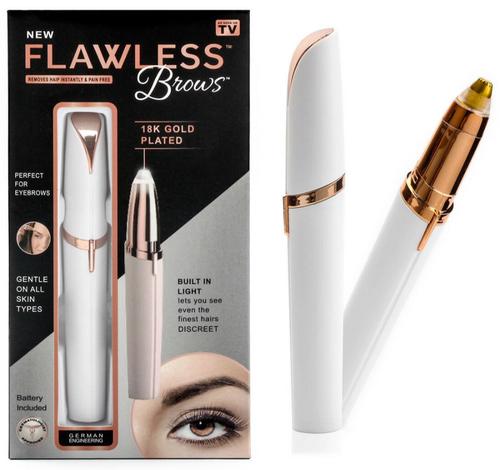 flawless eye brow hair removal 3