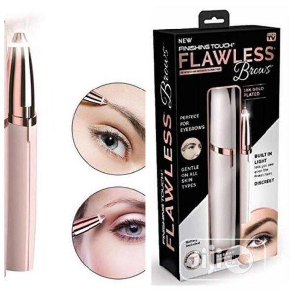 flawless eye brow hair removal 2