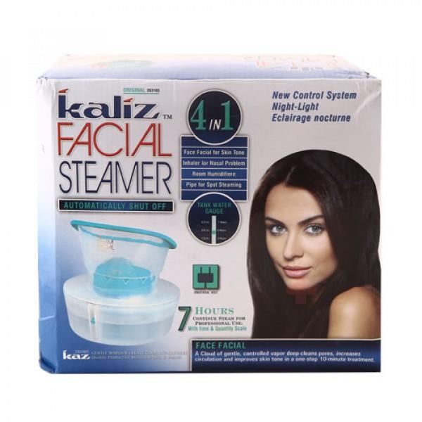 Kaliz Facial Steamer is a 4 in 1 steamer 4