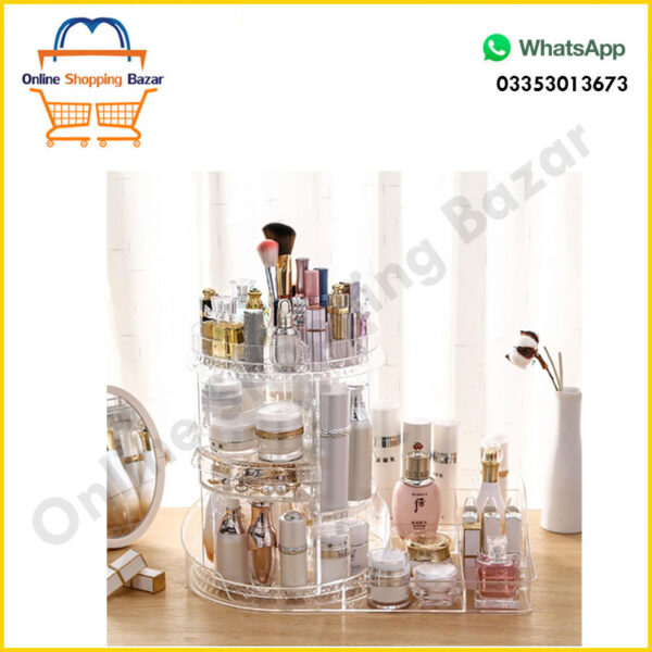 Cosmetic storage box 360 DEGREE 3