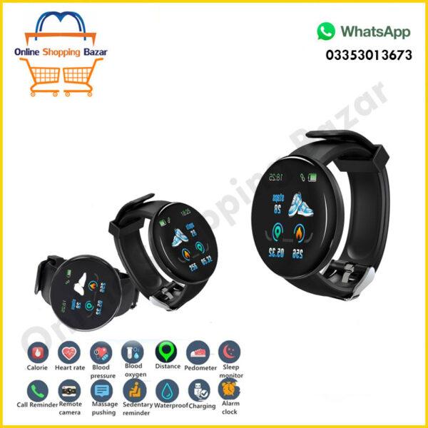 D18 smart watch 3