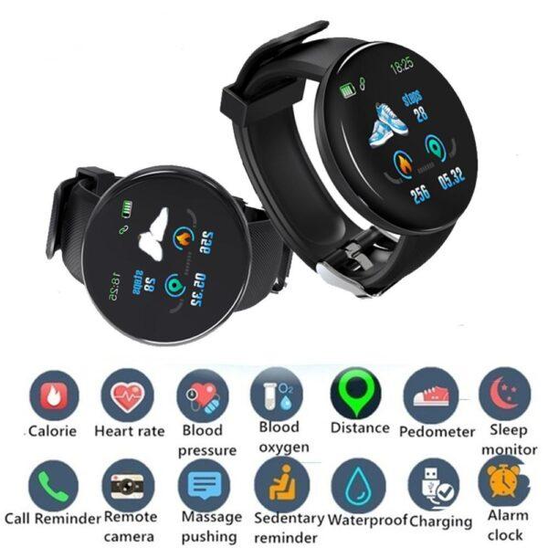 D18 smart watch 5