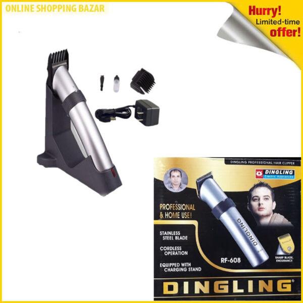 Dingling RF 608 Professional Hair Trimmer, Hair Clipper For Men 3