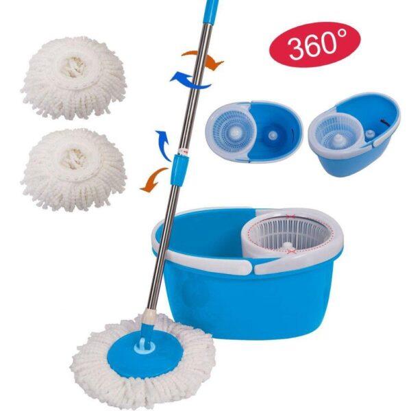 Easy Mop 360 degree microfiber spin mop 5