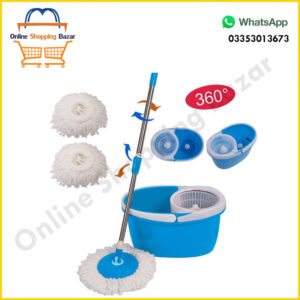 Easy Mop 360 degree microfiber spin mop