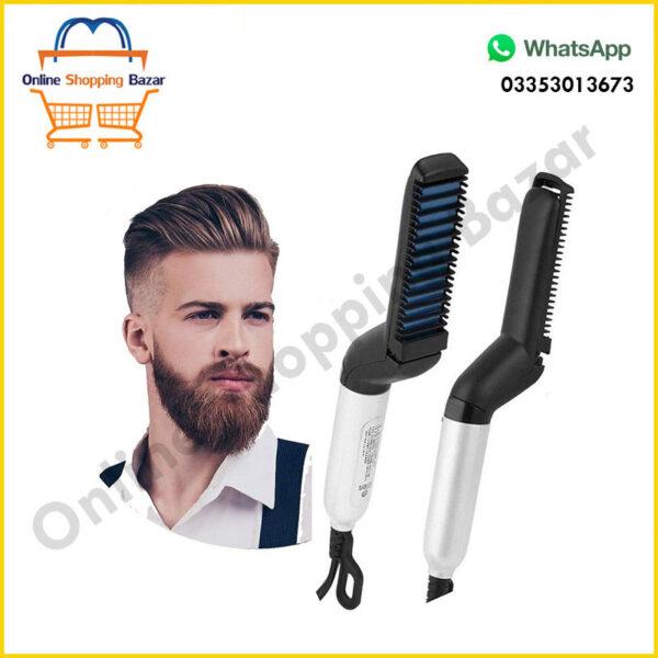 Hair and Beard Straightener For Men 3