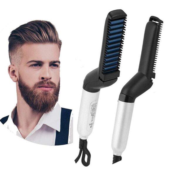 Hair and Beard Straightener For Men 5