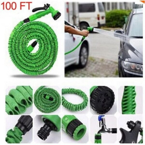 Magic Hose Water Pipe 100ft for Garden & Car wash 4