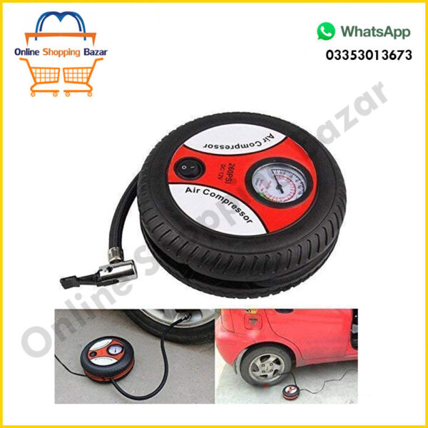 Car Air pump DCV 12 tyre shape 3