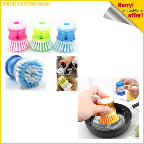 Liqvid soap brush 3