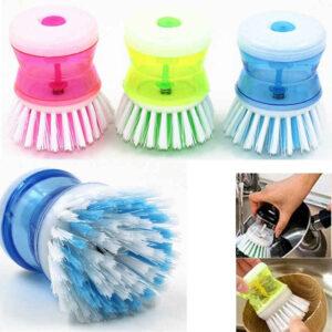 Liqvid soap brush