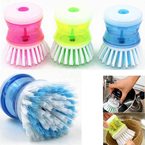 Liqvid soap brush 4
