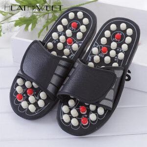 Foot reflexology massage slipper