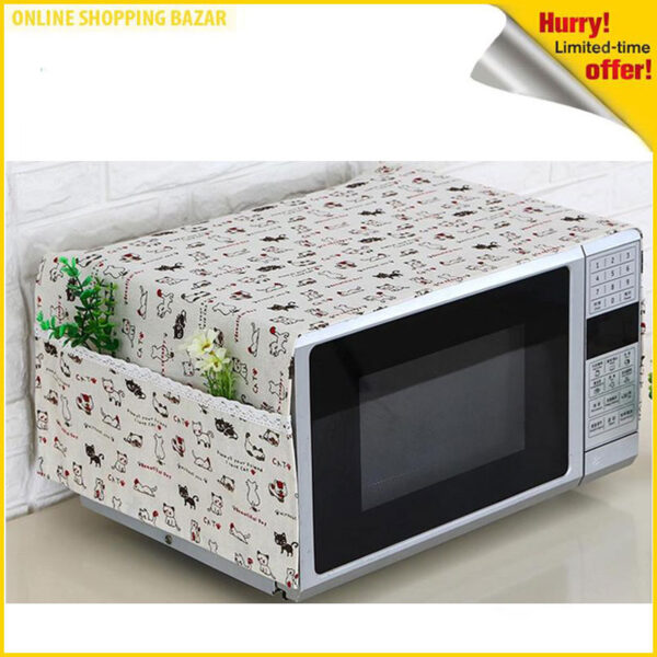 Portable Microwave Oven Cover Dustproof 3