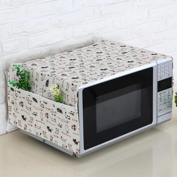 Portable Microwave Oven Cover Dustproof 4