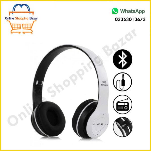 P47 Hireless Headphone 3