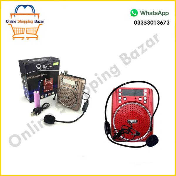 Amazing Portable Speaker With HD Mic Qugo 204 3