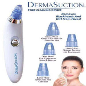 DERMA SUCTION FOR CLEANING DEVICE