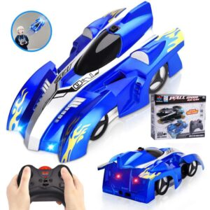 Wall climbing remote control car rechargable