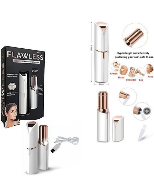 Rechargable flawless body hair removal 3