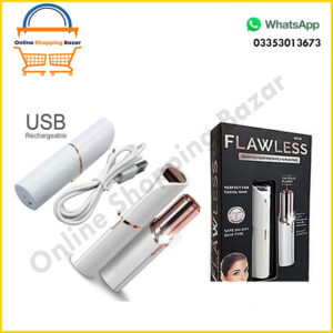 Rechargable flawless body hair removal