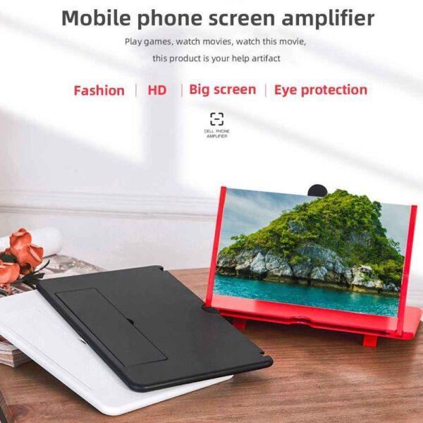 phone screen magnifier hd video amplifier 4