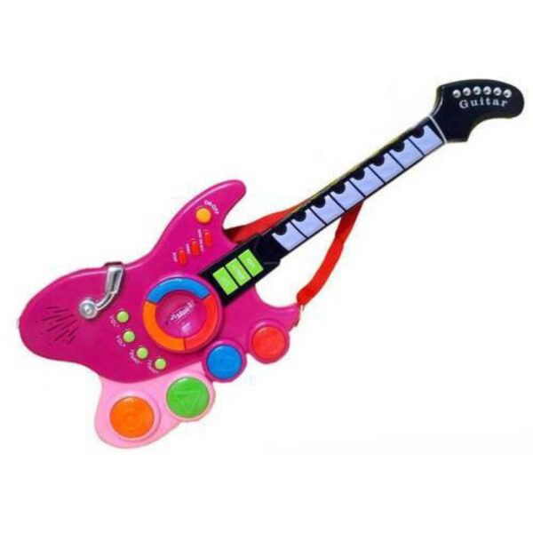 Guitar multimmood selection light and music fo kids 4
