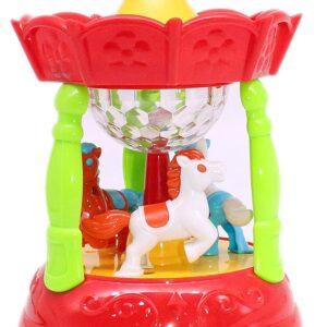 Horse Carousel Classic Music Box Merry Go Round