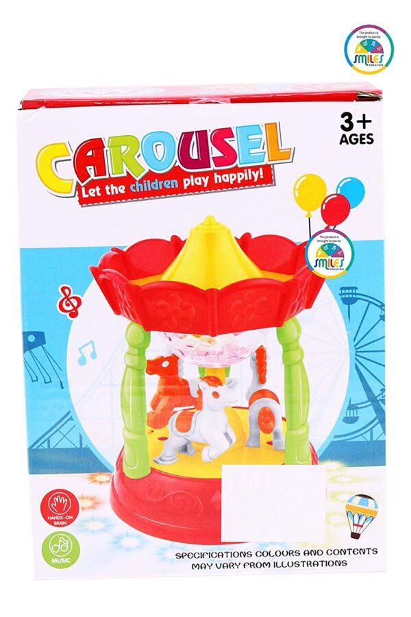 Horse Carousel Classic Music Box Merry Go Round 3