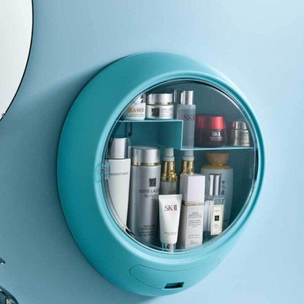 Bathroom Round Storage Box 4