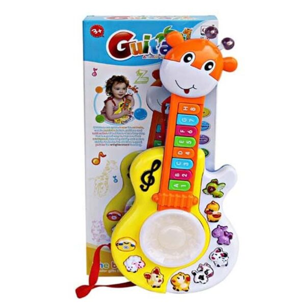 Guitar multimmood selection light and music fo kids 3
