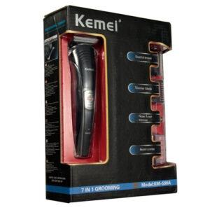 kemei 7 in 1 grooming kit rechargable