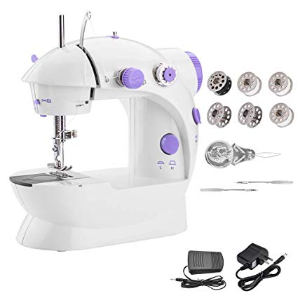 Portable Mini Sewing Machine With Double Thread Speed 3