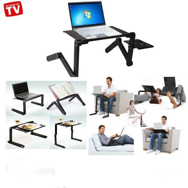 T8 Aluminum Laptop Table Stand 3