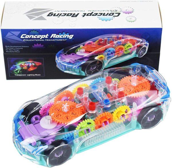 Transparent Music Light Car 3