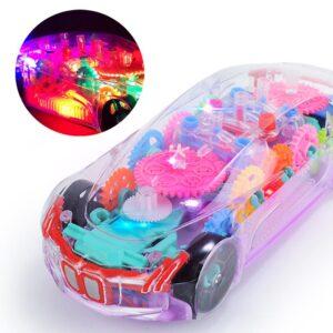 Transparent Music Light Car