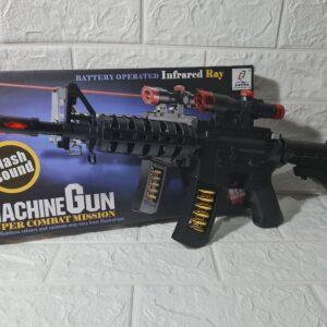 MACHINE GUN SUPER COMBAT MISSION TOY