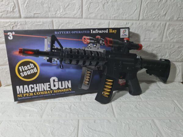 MACHINE GUN SUPER COMBAT MISSION TOY 3